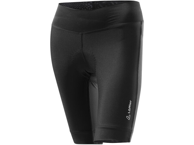 Löffler Tour Short Bike Tights Women, black